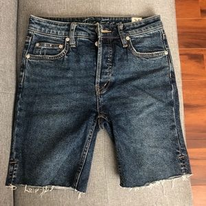 Free People Bermuda Shorts